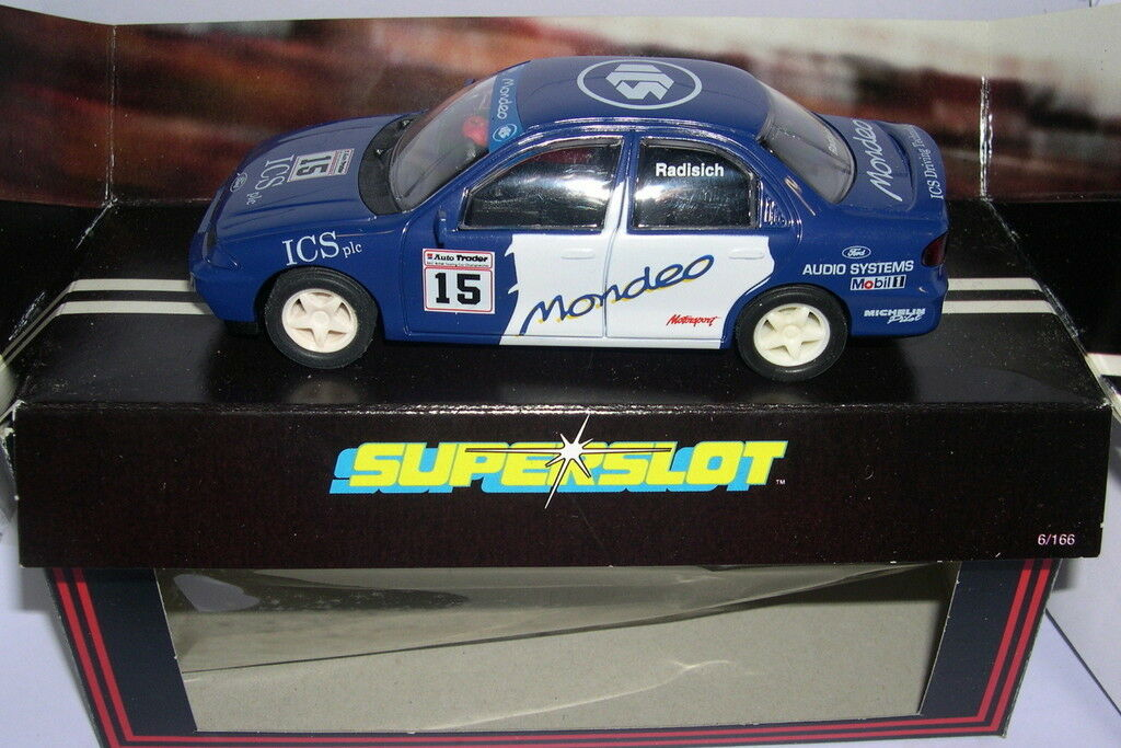 SUPERSLOT C163 FORD MONDEO COSWORTH RADISICH SCALEXTRIC UK MB