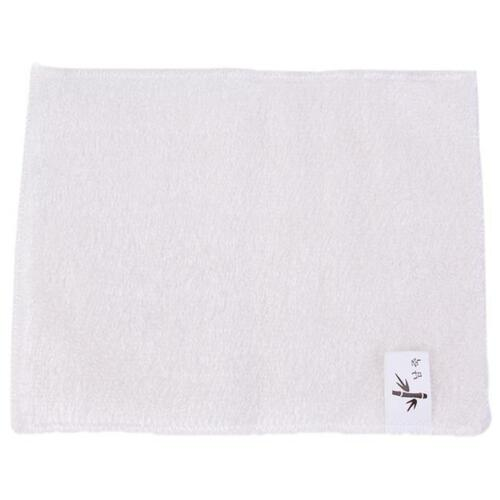 Kitchen Double Thickness Bamboo Fiber Non-stick Dish Wash Cloth Towel Rags FM