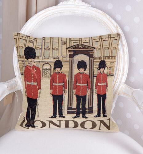 Kissenbezug London Motiv Kissen Gobelin Dekokissen Sofakissen Kissenhülle