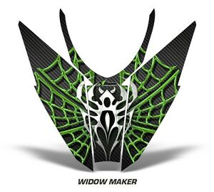 Sled-Hood-Graphics-Kit-Decal-Wrap-For-Arctic-Cat-Pro-Climb-Cross-12-16-WIDOW-G-K