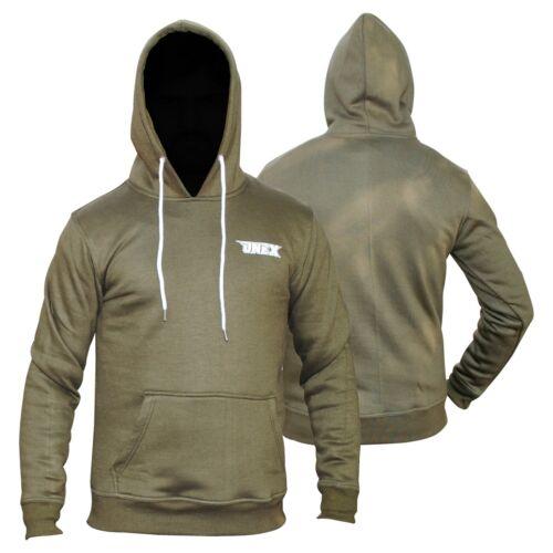 New Plain Mens Hoodie American Fleece Jacket Sweatshirt Hooded Top M L