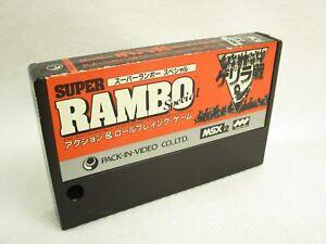 MSX-SUPER-RAMBO-SPECIAL-Cartridge-only-MSX2-Import-Japan-Video-Game-msx