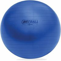 Champion Sports Training/excercise Ball 42cm Soft Royal Blue Brt42