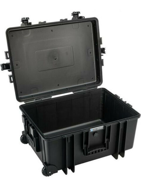 B&W Outdoor Case Type 6800 Black with SI (6800/B/SI)