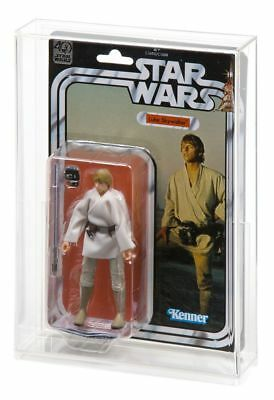 """Star Wars 40th Anniversary Black Series 6/"""" Carded Figure Acrylic DISPLAY CASE"""