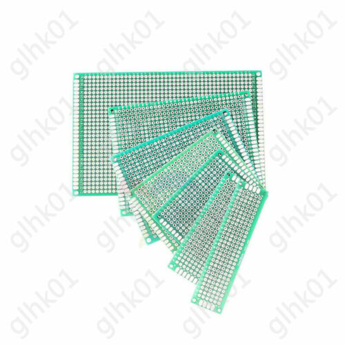 FR4 Single Double Side Prototype Universal PCB Circuit Board 20*80-120*180mm