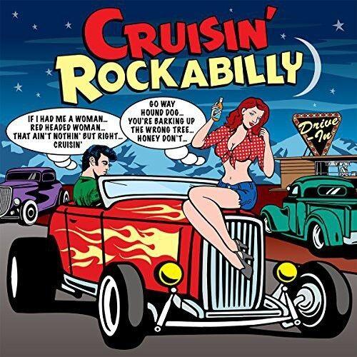 Various Artists - Cruisin Rockabilly / Various [New CD] UK - Import