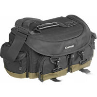 Canon Cb3 Pro Dslr Camera Bag For Sx50 Sx500 60da Rebel T3i T4i With Zoom Lens