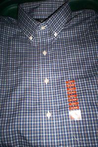 BERKLEY JENSEN NO IRON BUTTONDOWN DRESS SHIRT-LIGHT BLUE-16.5 32//33 NEW