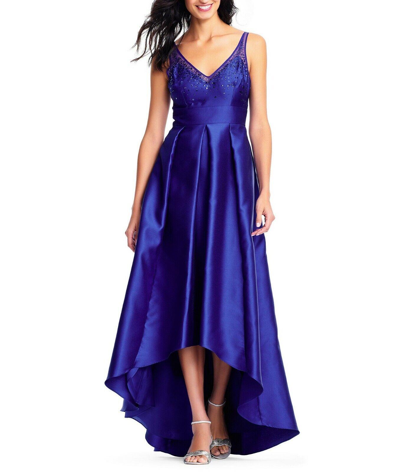 Adrianna Papell High Low Ball Gown  229   Größe 4 A 202 NEW