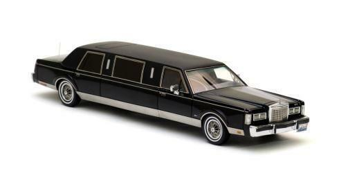 LINCOLN TOWN CAR Formal limousine stretch noir 1985 1 43 NEO 45335