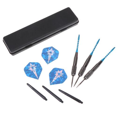 Competition 26g Tip Darts Flights Toys Tungsten Steel Needle 3Pcs//Set BoxY ua