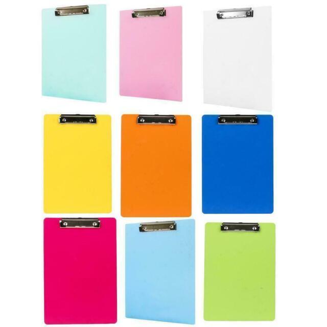 A4 Clipboard Paper File Clip Board Pen Holder Portable Sale Writing Pad U3P3