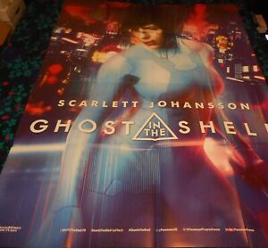 Ghost In The Shell Original Large French Folded Poster Scarlett Johansson Ebay