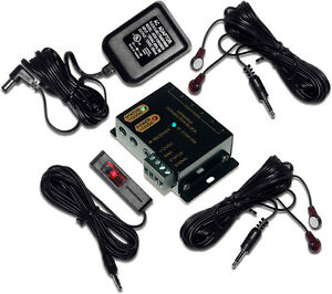 Hidden IR Infrared Remote Control Repeater Extender Emitter Receiver System Kit