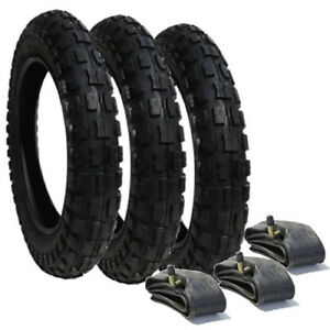 3x Pram Tyres /& 3x Tubes 12 1//2 X 2 1//4 Slick Out n About Nipper Motercare MY4