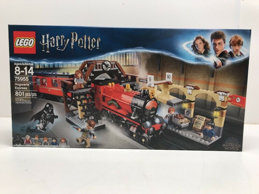 NEW NIB LEGO Harry Potter 75955 Hogwarts Express In Hand NISB Factory Sealed