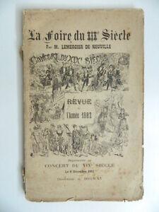 Lemercier Neuville La Feria de La Siglo XIX Revista Año 1882 E. O