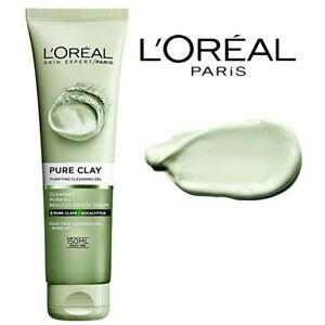 L-039-Oreal-Pure-Clay-Purifying-Cleansing-Gel-Skin-Cleansing-Clays-Eucalypt-150-ml