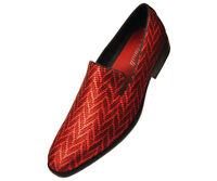Mens Loafers Red Tuxedo Slip On Dress Shoe Wedding Prom Formal Tuxedos Size
