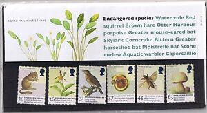 GB-Presentation-Pack-284-1998-Endangered-Species