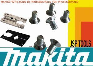 JUST-8-SCREWS-to-fit-MAKITA-BJV180Z-18v-14-4v-240v-110v-jigsaw-foot-base-plate