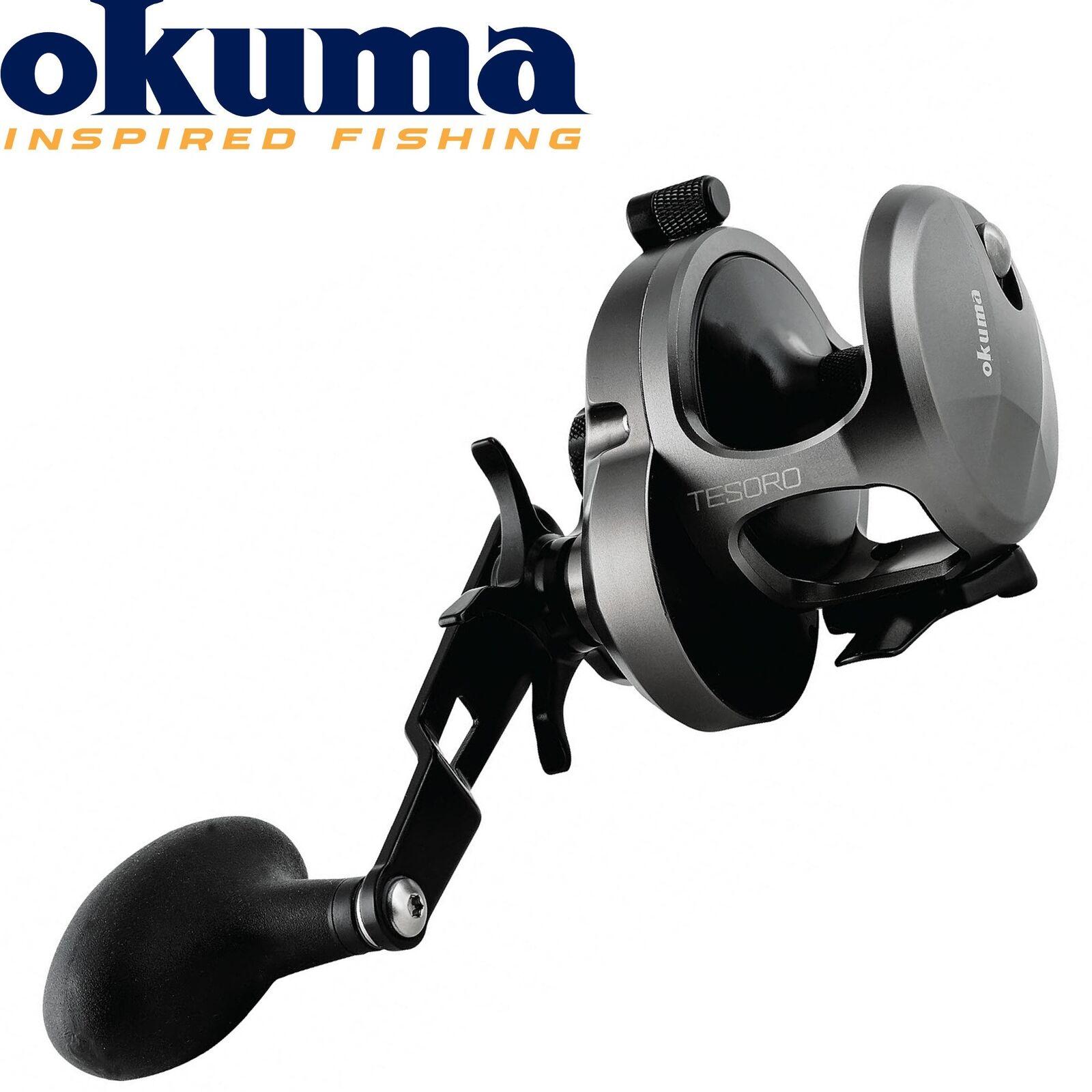 Okuma TesGold tsr-5s Multi Role for pilken, Sea reel, fishing reel for CODs