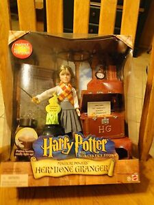 Magical Powers Hermione Granger Harry Potter & the Sorcerer's Stone Mattel NRFB
