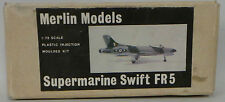 AVIATION : SUPERMARINE SWIFT FR5 MODEL KIT MADE BY MERLIN MODELS SCALE 1:72