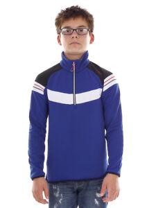 CMP-sweatpullover-Long-Sleeve-Top-blau-Collar-Insulating-Zipper