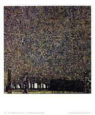 Gustav Klimt Park Poster Kunstdruck Bild 38x30cm - Kostenloser Versand
