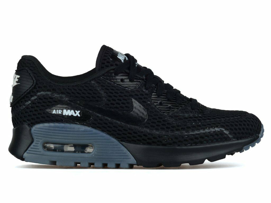 Femme NIKE AIR MAX 90 ULTRA BREATHE BR BREATHE ULTRA - noir/Gris - 725061 002 -4 5.5 6 2cecf7