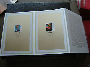 FRANCE-ALLEMAGNE-document-1er-jour-10-10-1991-max-ernst-cy52-french-germany