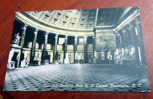Vintage-Postcard-034-East-Side-Statuary-Hall-US-Capitol-Washington-DC-034-A12474