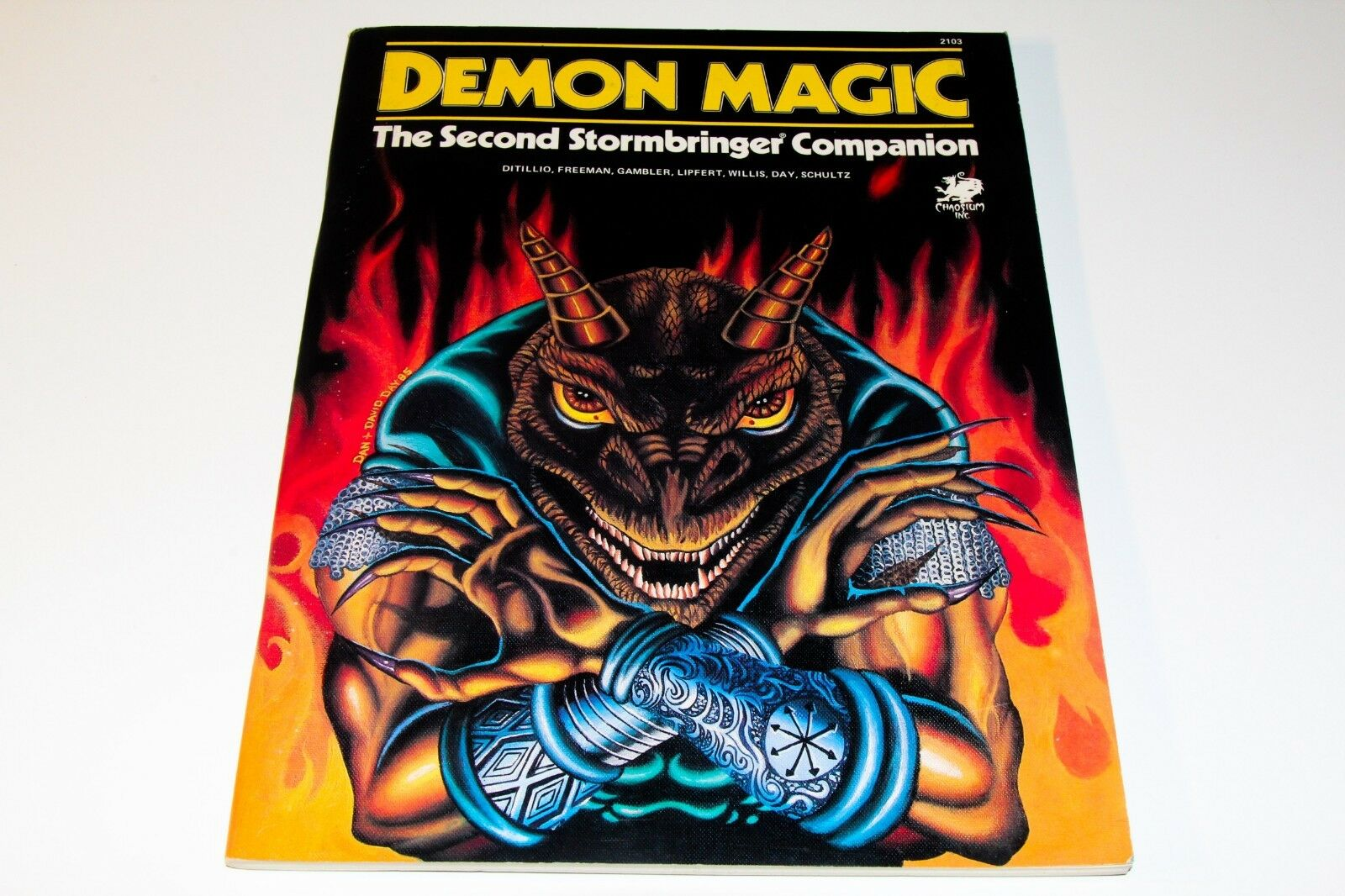 STORMBRINGER - ROLE JugarING Juego - DEMON MAGIC - CHAOISIUM
