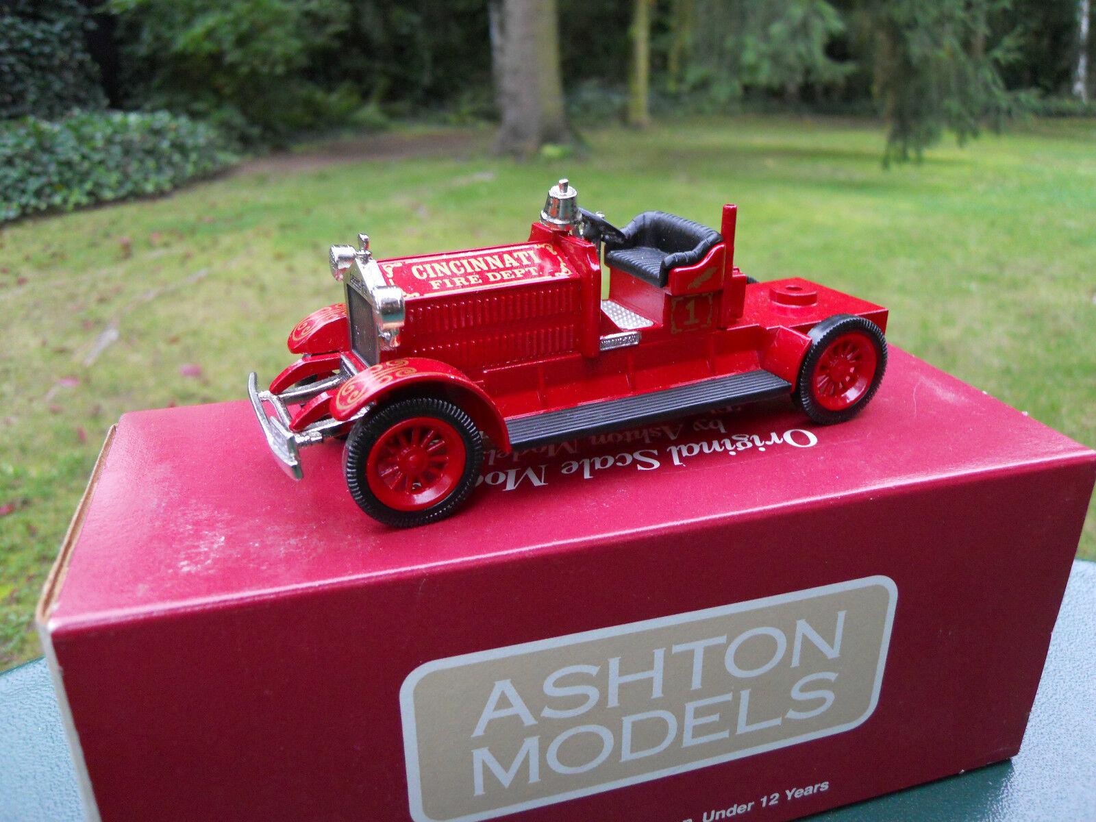 ASHTON MODELS 1 43 N° AH 33 AHRENS-FOX 1923 TYPE K-17   CINCINNATI    MINT BOX