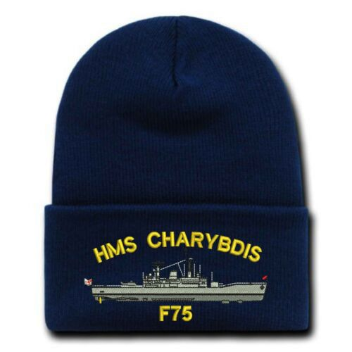 Ship/'s profile Leander Class Embroidered Beanies
