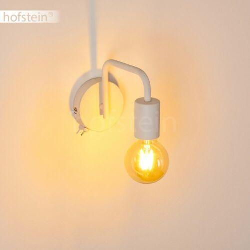 Retro Wand Lampen Schalter Wohn Schlaf Zimmer Beleuchtung Flur Leuchten schwarz