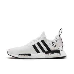 Details about Men's adidas NMD Runner R1 Casual Shoes Footwear White/Core Black/Signal Coral F