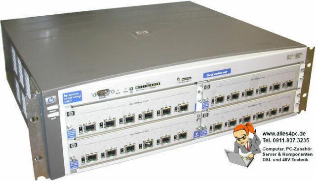 Hewlett Packard hp Procurve Switch 4104gl Housing Case J4887a not a Power Supply