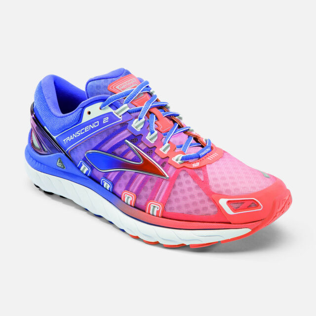 Womens Brooks Transcend 2 Running Shoes