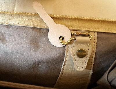 Damentasche Tragetasche echt Leder Beige