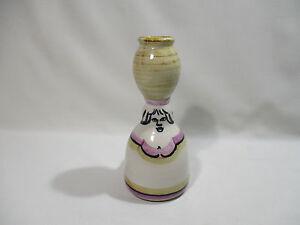 Bougeoir Femme Porteuse D' Eau Ceramique Faience Signee Husson 7xier9zv-08002432-239942626
