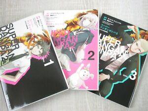 SUPER-DANGANRONPA-2-Vol-1-3-Manga-Comic-KUROKI-Q-3-Books-Set-Japan-Book-EB