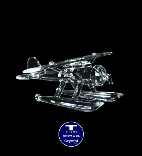 "SPECIAL OFFER /""Sea Plane/"" Austrian Crystal Figurine was AU$94.00"