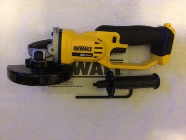 "New Dewalt DCG412B DCG412 20V Cordless  Angle Grinder 4 1//2/"" MAX Cut-Off"