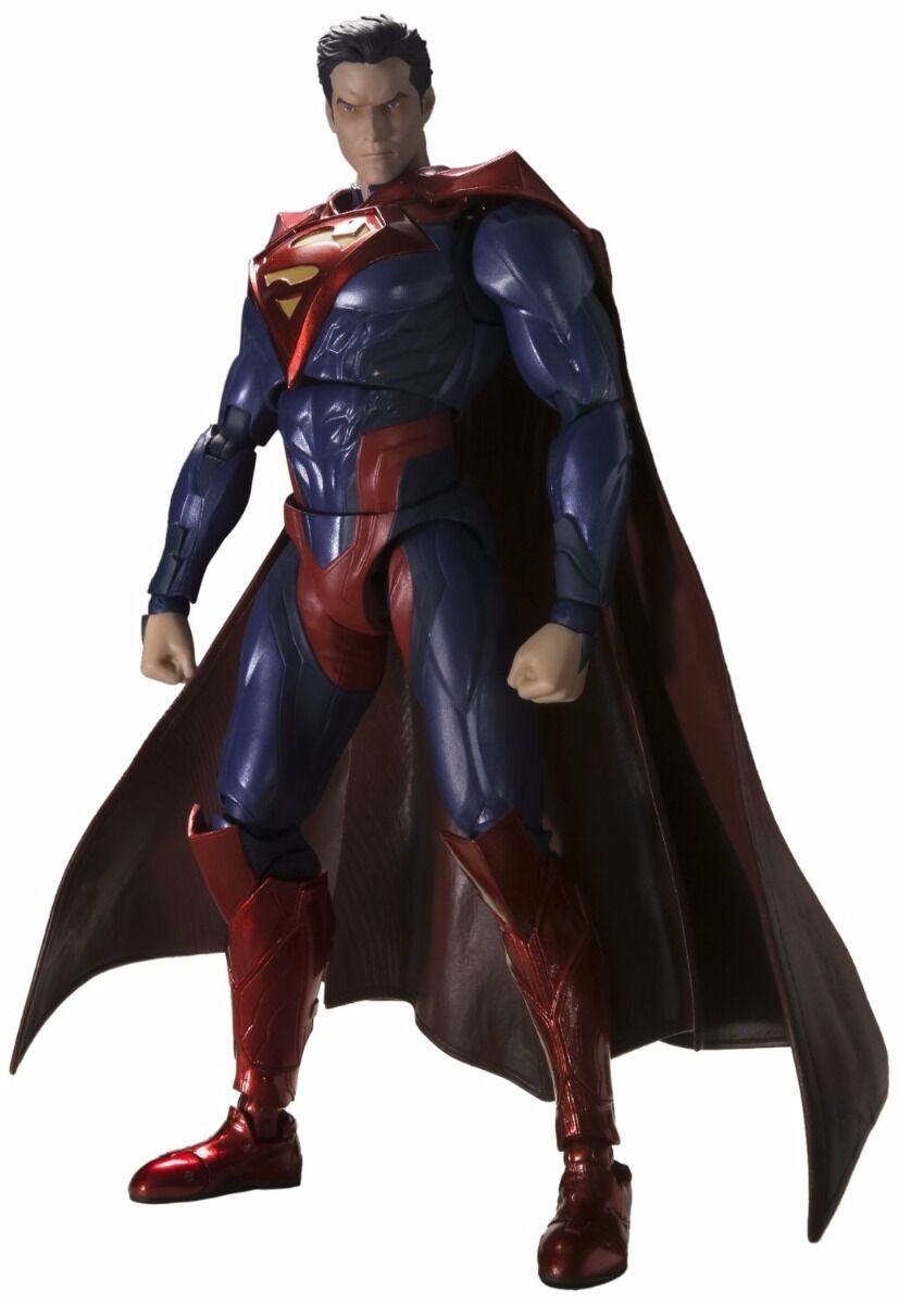 S.H.Figuarts SUPERMAN INJUSTICE Ver Action Figure BANDAI from Japan