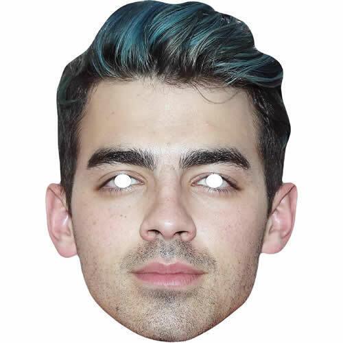 Joe-Jonas Brothers Cantante Celebrità Maschera di carta-tutte le maschere sono pre-tagliati