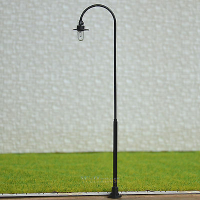 5 pcs O scale Raplaceable Model Lamppost street light Lamp easy Maintain #RB33-O