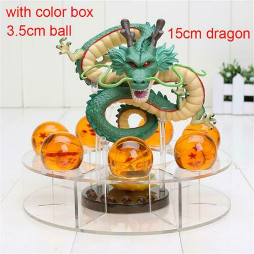 New Dragon Ball Z Shenron PVC Action Figure Statue with Balls and Stand Shenlong